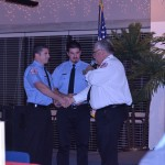 James &amp; Matt McNulty receive their 5 year service award.