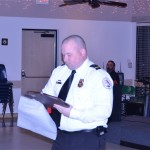 Zack Anderson - Firefighter of the year.
