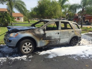 Vehicle Fire 7/1/15